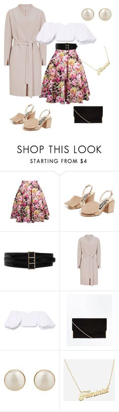 """""""My outfit for Easter🐥🐣🐑☀️"""" by antonia-fabian ❤ liked on Polyvore featuring Jacquemus, Oscar de la Renta, E L L E R Y and PONO"""