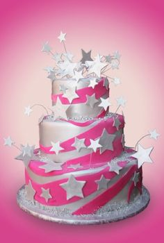 Lulu Scarsdale - Cakes for Girls Screw that! I want that cake for MY birthday!
