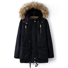 Buy 'JVL – Fleece-Lined Drawstring Hooded Parka' with Free International Shipping at YesStyle.com. Browse and shop for thousands of Asian fashion items from China and more!
