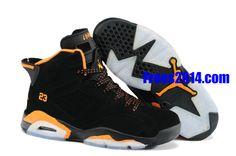 freerun40.org Wholesale Cheap New Jordans Shoes Over 60% off,$66.38 Jordan 6 Suede Spring 2013 Mens Tangerine Orange Triple Black Ice White