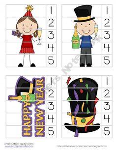 New Year Preschool Pack