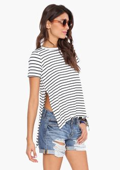 Ripped jeans/shorts are the best for summer! Cool and chic. It all depend on how you mix and match it:)