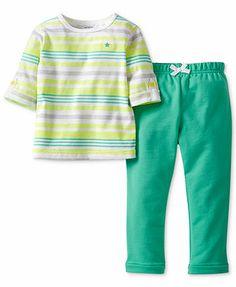 Carter's Baby Girls' 2-Piece Top & Pants Set
