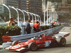 1973 Jackie Ickx Ferrari 312 B3