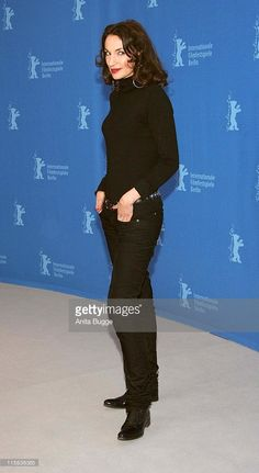 Jeanne Balibar during The 57th Annual Berlinale International Film Festival - 'Don't Touch The Axe' Photocall and Press Conference at Grand Hyatt in Berlin, Berlin, Germany.