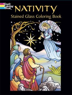 Sisters of Carmel - Nativity Stained Glass Coloring Book, $7.95 (http://www.sistersofcarmel.com/nativity-stained-glass-coloring-book/)