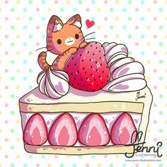 tea time with bella german shepherd dog - Dogs Chat Kawaii, Manga Kawaii, Kawaii Art, Cute Food Drawings, Cute Kawaii Drawings, Cute Animal Drawings, Kawaii Illustration, Anime Animals, Cute Animals
