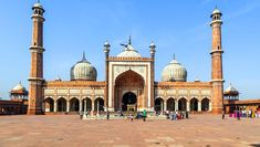 Jama Masjid was make by Mughal emperor Shah Jahan between 1644 & 1656 & It's inaugurated by an imam from Bukhara, present-day Uzbekistan. This mosque is four towers & two 40 m high minarets build of strips of red sandstone and white marble.