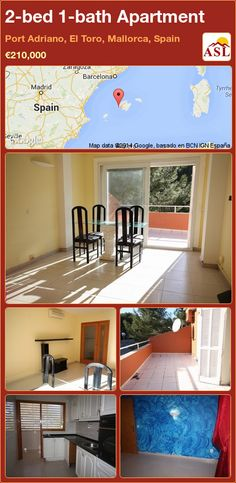 2-bed 1-bath Apartment in Port Adriano, El Toro, Mallorca, Spain ►€210,000 #PropertyForSaleInSpain