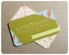 beautiful business card.