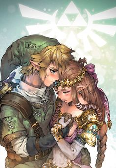 Usually not a fan of obvious romantic photos of zelda and link but this is outstanding!