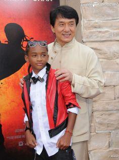 Jaden & Jackie Chan for Karate Kid Jackie Chan, Karate Kid Jaden Smith, Karate Kid 2010, Jaden Smith Fashion, Action Icon, Jet Li, Martial Artists, Jada, In Hollywood