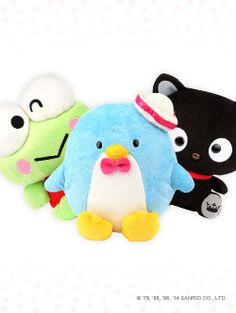 Sweet #Sanrio plush toys - deliver smiles and happiness wherever they go