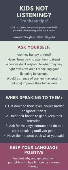 Kids not listening? Your kids will listen if you use these two strategies. Great positive parenting strategies for parents with young kids, toddlers, and preschoolers. #YoungParenting