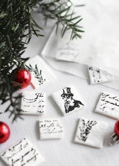 A Bag of Stamped Peppermint Candies | 31 Cheap And Easy Last-Minute DIY Gifts They'll Actually Want