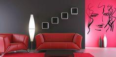 Wall Vinyl Sticker Room Decal Mural Design Hair Style Salon Woman Beauty bo1444 #Oracal #Modern