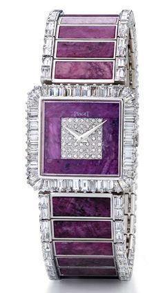 Piaget Wrisch 1976 High Jewelry Crystal Box Jewelery