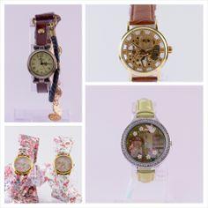 Leuke kleurige horloge's Nice colourfull watches