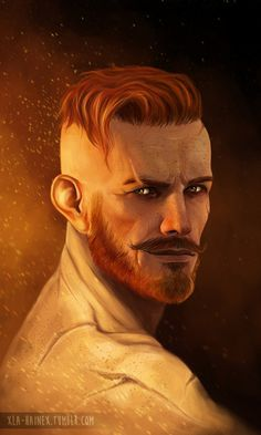 xla-hainex:Olgierd von Everec, a character from witcher's latest dlc Hearts of Stone. couldn't resist :D sometimes it's a bit sad that you can't keep companions during the game. i definately would like to have him as a companion :D