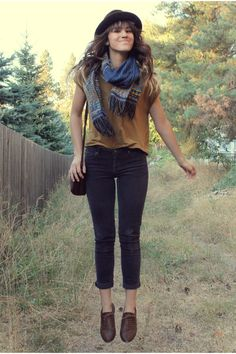 Dark-brown-vintage-stetson-hat-navy-knitted-scarf-mustard-top_400