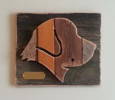 Made from repurposed weathered barn wood.