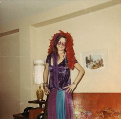Janis Joplin, at home in Port Arthur, 1970