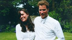 Is her wearing an earring?  William and Kate Middleton first crossed paths in September 2001 in the Scottish city of Fife. The pair started their love story at the University of St Andrews in 2002 and continued to be in each other's lives after they both graduated in 2005.