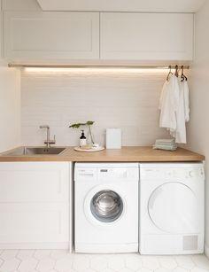 Room Remodeling, Laundry Design, Room Renovation, Bathroom Interior, Laundry In Bathroom, Small Room Design, Modern Laundry Rooms, Room Design