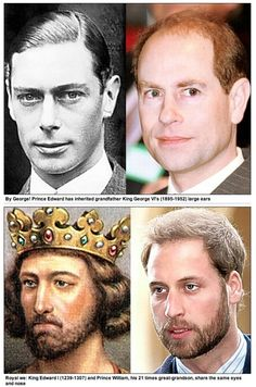 Look a likes in the Royal family - look for the one of a young Queen Victoria and Princess Beatrice! Amazing