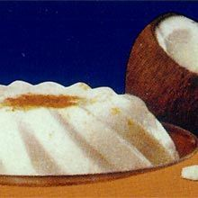 Receta Coconut Custard/Tembleque Puerto RicoTembleque - a coconut and cornstarch dessert some call a pudding. but in reality a custard.  It is my childhood and a very common Puerto Rican holiday center of attraction.  Christmas time ... all twelve days of Christmas.