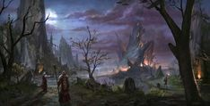 View an image titled 'Daggerfall Art' in our The Elder Scrolls Online art gallery featuring official character designs, concept art, and promo pictures. The Elder Scrolls, Elder Scrolls Online, Elder Scrolls Skyrim, Fantasy Castle, Fantasy Rpg, Fantasy World, Fantasy Images, Dark Fantasy, Eso Skyrim