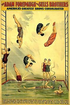 The Adam Forepaugh-Sells Brothers Circus Old Circus, Circus Art, Circus Theme, Cirque Vintage, Vintage Carnival, Advertising Poster, Vintage Posters, Images Vintage, Vintage Graphic