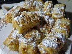 Apple Desserts, Apple Recipes, No Bake Desserts, Cake Recipes, Cookbook Recipes, Cooking Recipes, Greek Sweets, Sweets Cake, Bread Cake