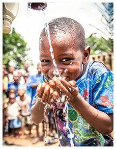 kristencreative: humanitarian photography child drinking water