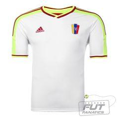 Camisa Adidas Venezuela Away 2014 - Fut Fanatics - Compre Camisas de  Futebol Originais Dos Melhores a0977534245db