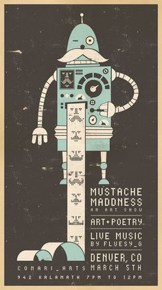 mustache-madness-poster