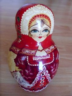 Russian Nested Dolls.