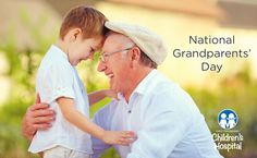 Be sure to give lots of hugs today... it's National Grandparents' Day!