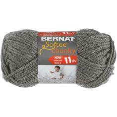 Crochet Hook Sizes, Crochet Hooks, Bernat Softee Chunky Yarn, Chunky Crochet Hat, Crochet Mermaid Tail, Ombre Yarn, Needlework Shops, Thick Yarn, Sewing Crafts