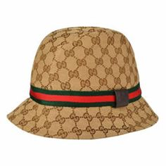 Gucci Monogram Bucket Hat 72b70716e22