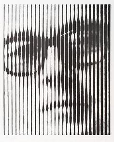 16 Ideas Geometric Art Painting Victor Vasarely For 2019 Victor Vasarely, Self Portrait Drawing, Portrait Art, Op Art, Art And Craft Videos, Star Wars Concept Art, Art Abstrait, Funny Art, Geometric Art