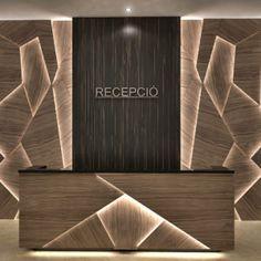 Hotel Reception Desk, Office Reception Design, Reception Counter Design, Bedroom Door Design, Wall Decor Design, Office Counter Design, Office Wall Design, Showroom Interior Design, Feature Wall Design