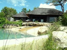 Swimming pool at Granite Suite at Londolozi Lodge - South Africa