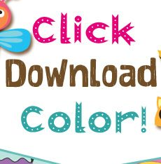 PomTree - Fun! PomTree Village FREE Coloring Pages