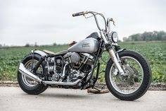 Beautiful Harley Davidson Shovel Head Bobber build by Kraftwerk Customs, Germany