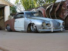 Slammed lowlight Ghia