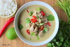 Thai Green Curry Recipe on Yummly. Kale Recipes, Pork Chop Recipes, Chicken Recipes, Carrot Recipes, Chicken Meals, Savoury Recipes, Salmon Recipes, Crockpot Recipes, Yummy Recipes