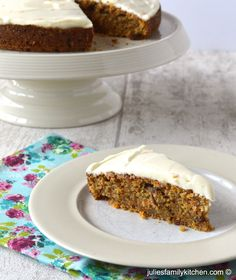 Healthier Carrot Cake, that's completely sugar free!