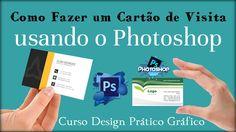 Como Fazer um Cartão de Visita no Photoshop   ,Aula Gratuita Curso Desig...