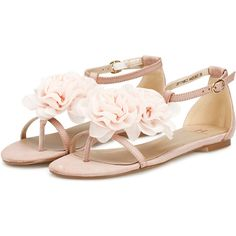 Silvian Heach Sandals Sofie ($73) ❤ liked on Polyvore